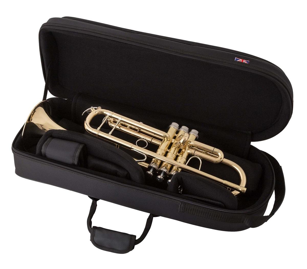 jp pro single trumpet case jp855 duchy brass instruments for sale. Black Bedroom Furniture Sets. Home Design Ideas