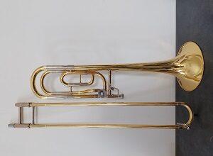 Yamaha YSL640 Bb/F Trombone